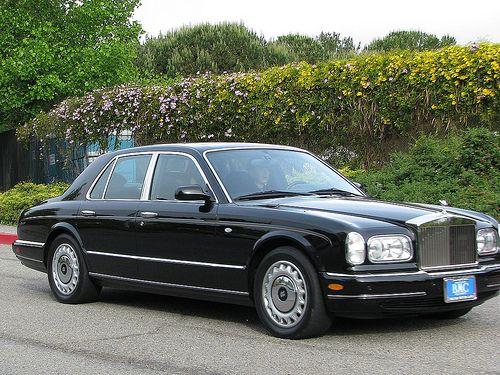 Rolls-Royce Silver Seraph Sedan Black Color