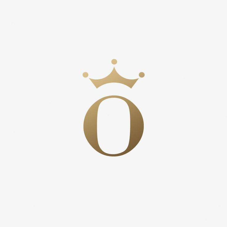 """""O"" + queen crown. Logo design for a lady interior designer named Olga. TIE A TIE working with startup companies since 2008. #logodesign #font…"""
