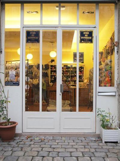 french vintage craft supplies shop in paris