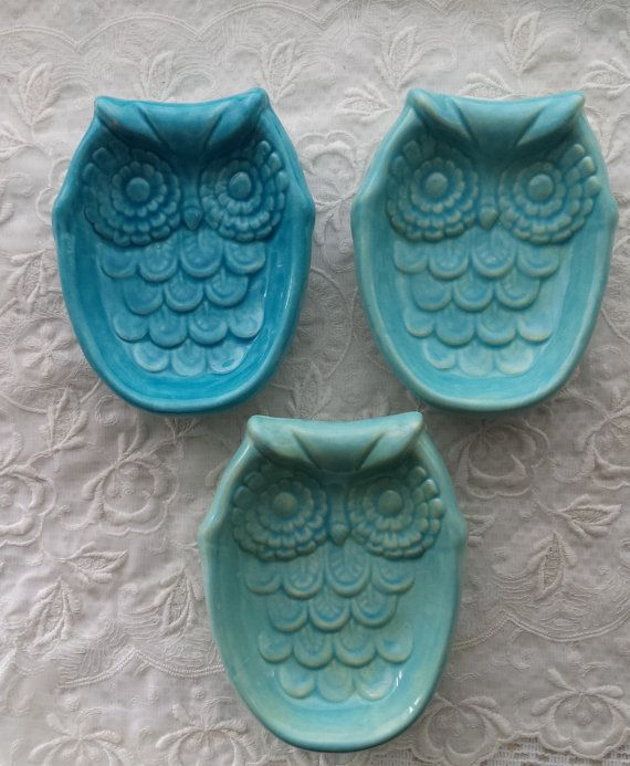 Trendy Home Decor Part - 47: Owl Soap Dish, Spoon Rest, Tea Caddy Or Sponge DishTrendy Home Decor.  Simply The Cutest Of Owls Designs, This Is