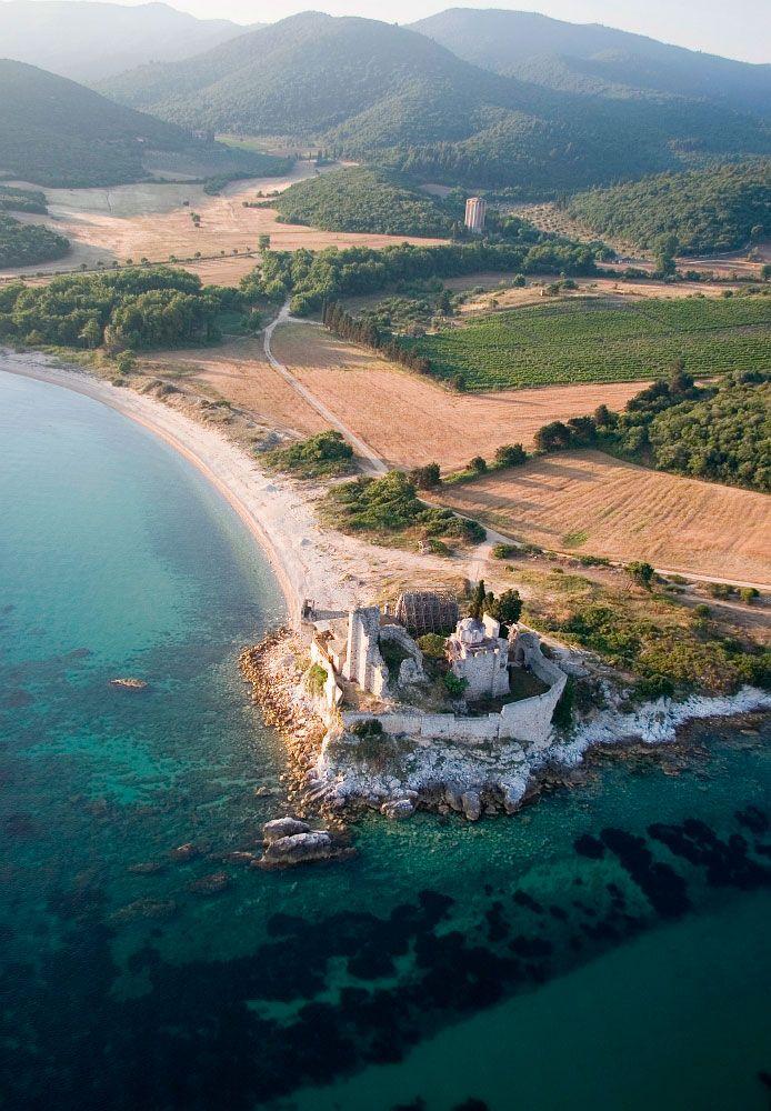 Mt. Athos, Greece. For luxury hotels in Halkidiki visit http://www.mediteranique.com/hotels-greece/halkidiki/
