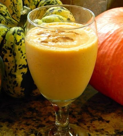 Recipe For Healthy Pumpkin Shake  - I wanted a Pumpkin Shake that was a little healthier that was packed with nutrition so after looking up a few recipes I came up with this..