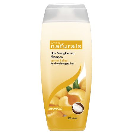 Hair Strengthening Shampoo in Apricot