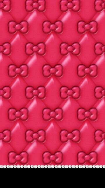 Pink Hello Kitty Bow Wallpaper 37168 Trendnet