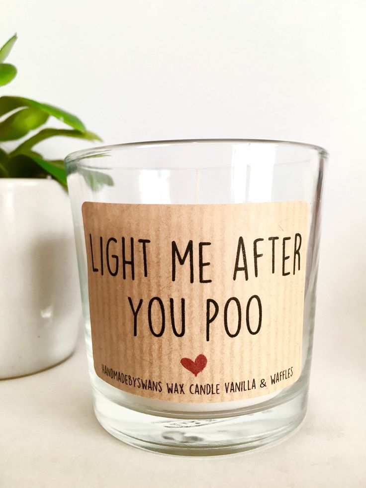 Funny Gift, funny candle, boyfriend gift,anniversary Gift, Humorous Gift, vanilla candle, Joke gift, Scented Candle, Candles, gift for him