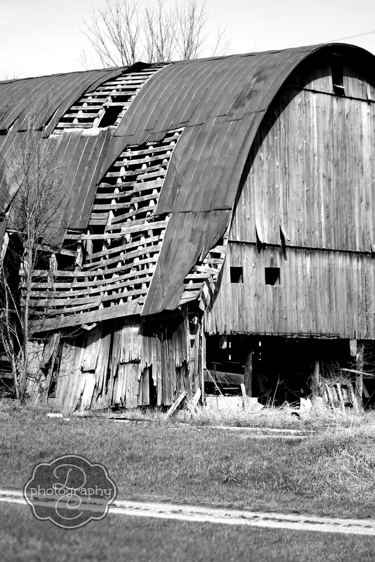 """By Creative Cain Cabin..........""""The Heart of America...A Time Worn Barn and Farm Land"""""""