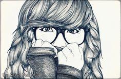 dibujos hipster - Buscar con Google