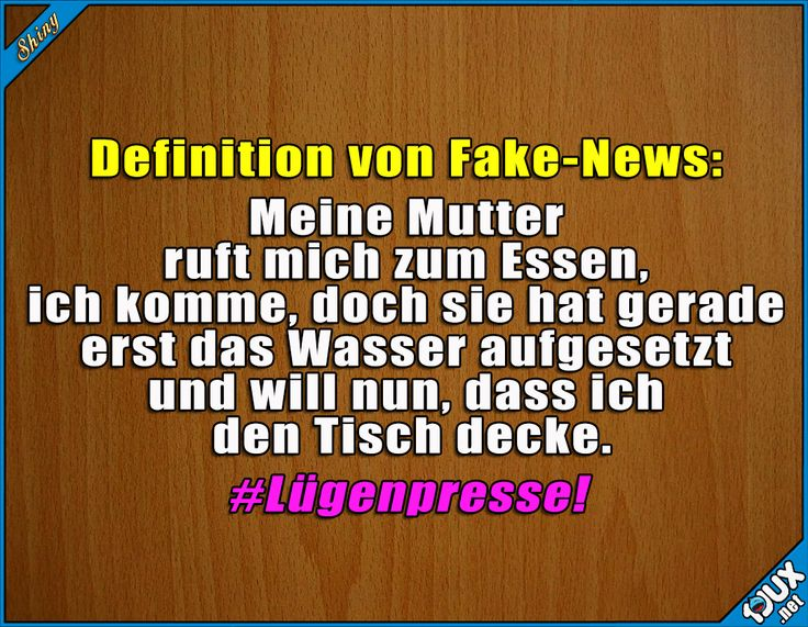 Fake-News übelster Sorte!