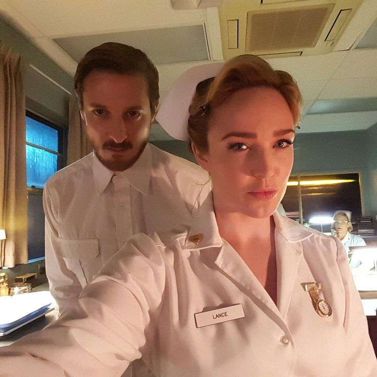 Caitylotz: Creepy AF. And you can hold your nurse joke, there's plenty of that on TONIGHT's episode #LegendsofTomorrow