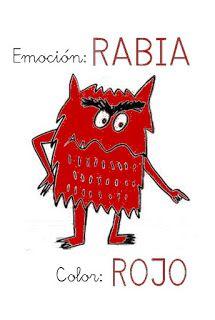 ¿Qué puedo hacer hoy?: Emociones de colores III: Rabia - Rojo