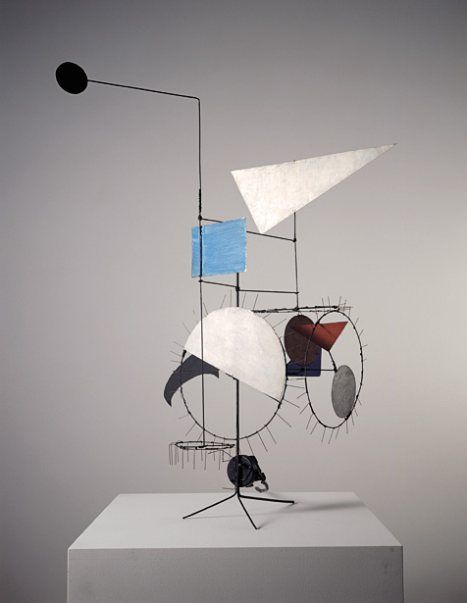 Art contemporain abstrait: Tinguely
