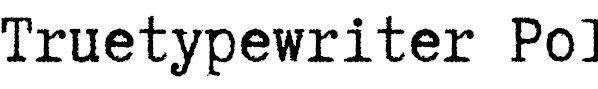 tattoo typewriter fonts