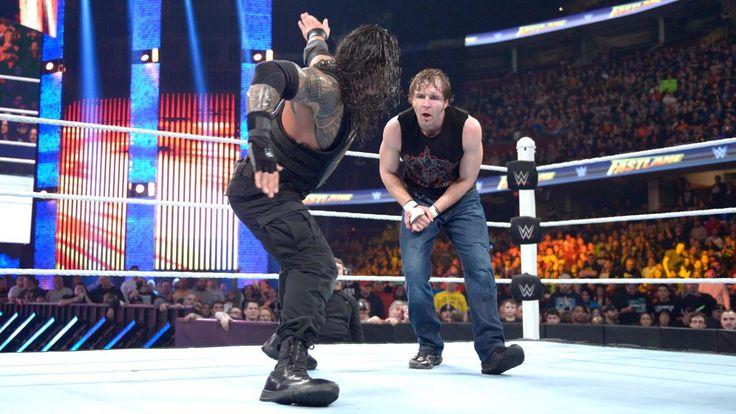 WWE Fastlane 2016: Roman Reigns vs. Brock Lesnar vs. Dean Ambrose - Triple Threat Match to determine Triple H's opponent at WrestleMania