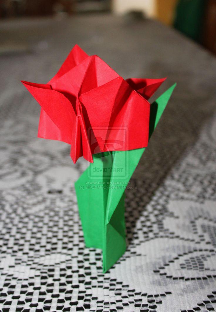 flor de papel by MiSA-MiiSA.deviantart.com on @deviantART
