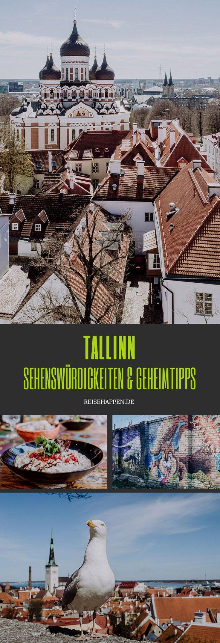 Tallinn – Sehenswürdigkeiten & Geheimtipps für Deine Städtereise – Reisehappen – ein Travel & Food Blog:  Reisen, Rezepte und Lifestyle