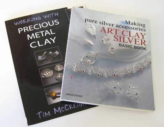 2 Books on Working with Precious Metal Clay by PatsParaphernalia, £12.00