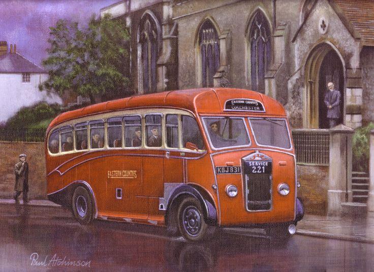 Autobús de Colchester, de Eastern Counties, GB