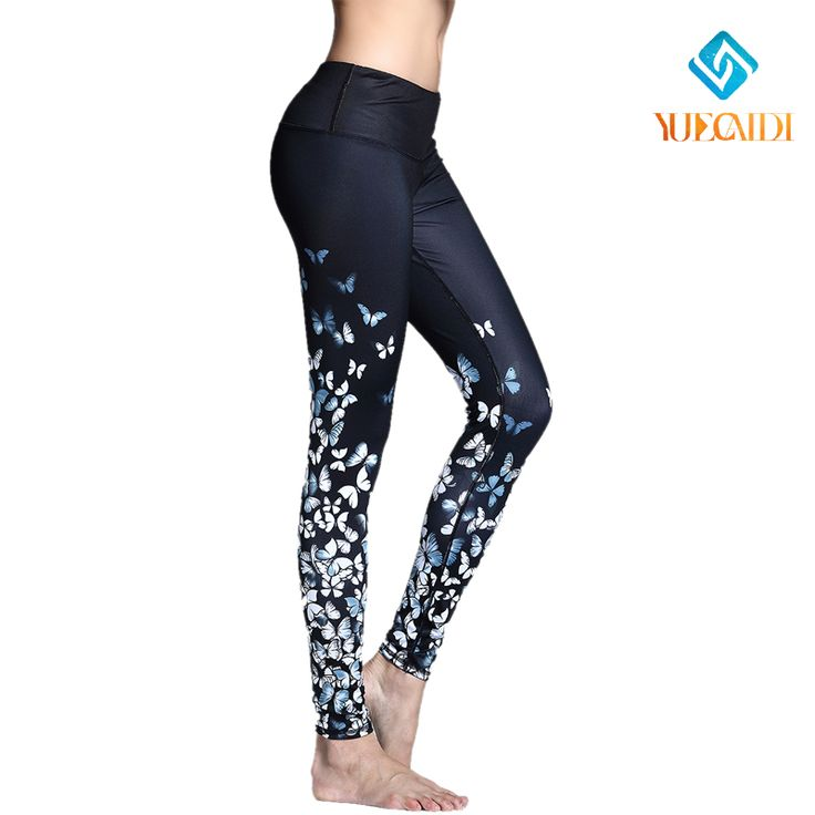 Woman Yoga Pants Compression Tights Sport Leggings Running Trousers Gym Fitness Female Jogging Jogger Slim Exercise