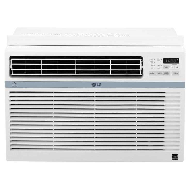 LG - 12000-Btu Window Air Conditioner with Wifi Controls, White