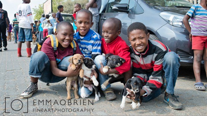 MAKING A DIFFERENCE WITH OUR MOBILE CLINIC IN ALEXANDRA www.spice4life.co.za