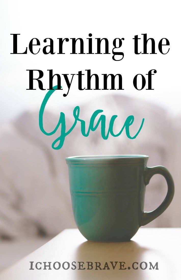 What is the definition of grace in the daily rhythm of of our lives? How do we leave room for grace in the push and pull of our daily schedule? What if grace really does change everything?