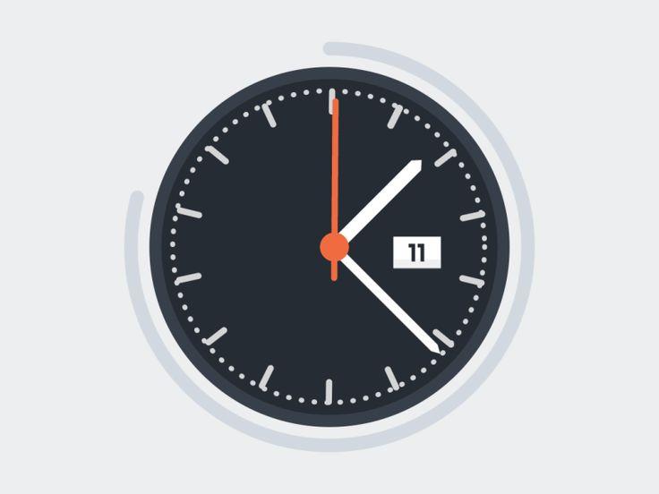 Clock by ILENOLIUKGO