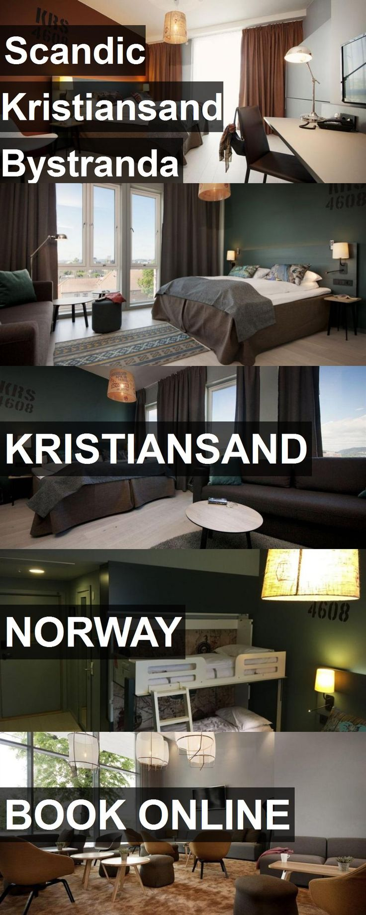 Hotel Scandic Kristiansand Bystranda in Kristiansand, Norway. For more information, photos, reviews and best prices please follow the link. #Norway #Kristiansand #hotel #travel #vacation