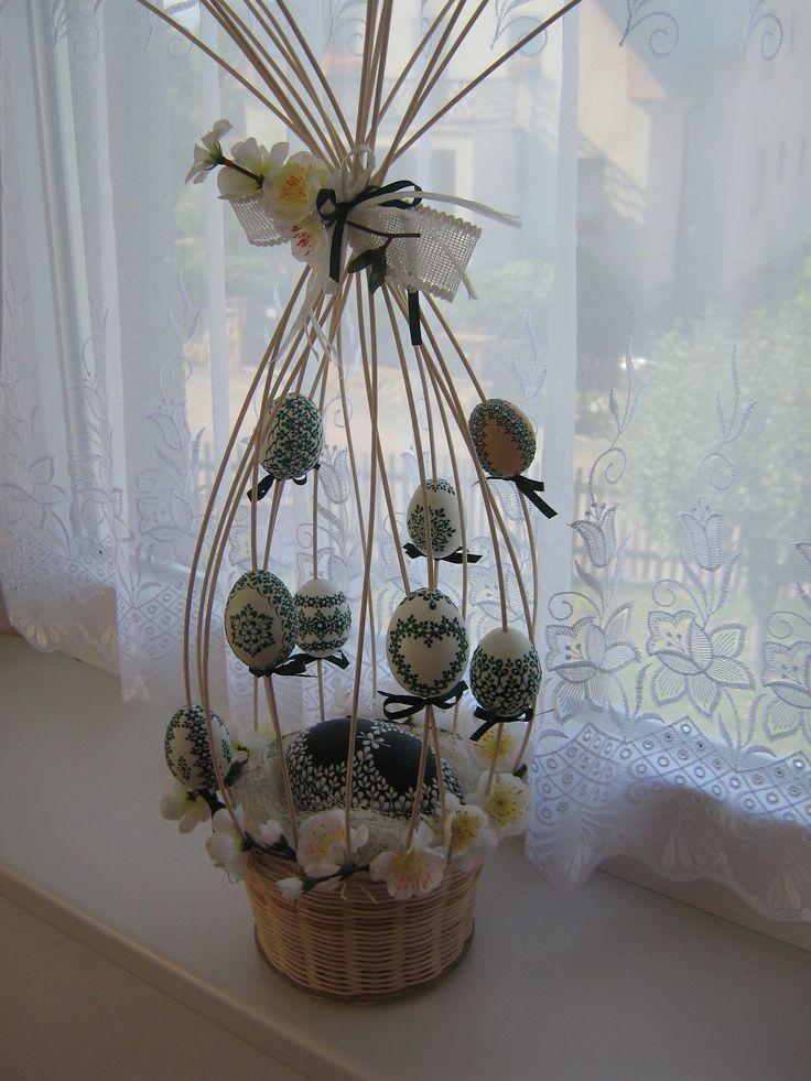 kraslice a svíčky: dekorace