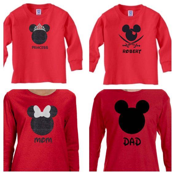 Château Disney famille chemises/Disney famille vacances chemises/Matching Disney chemises/Disney/5-pack de chemises