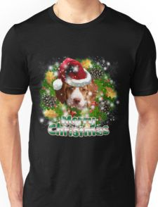 Merry Christmas Brittany Spaniel