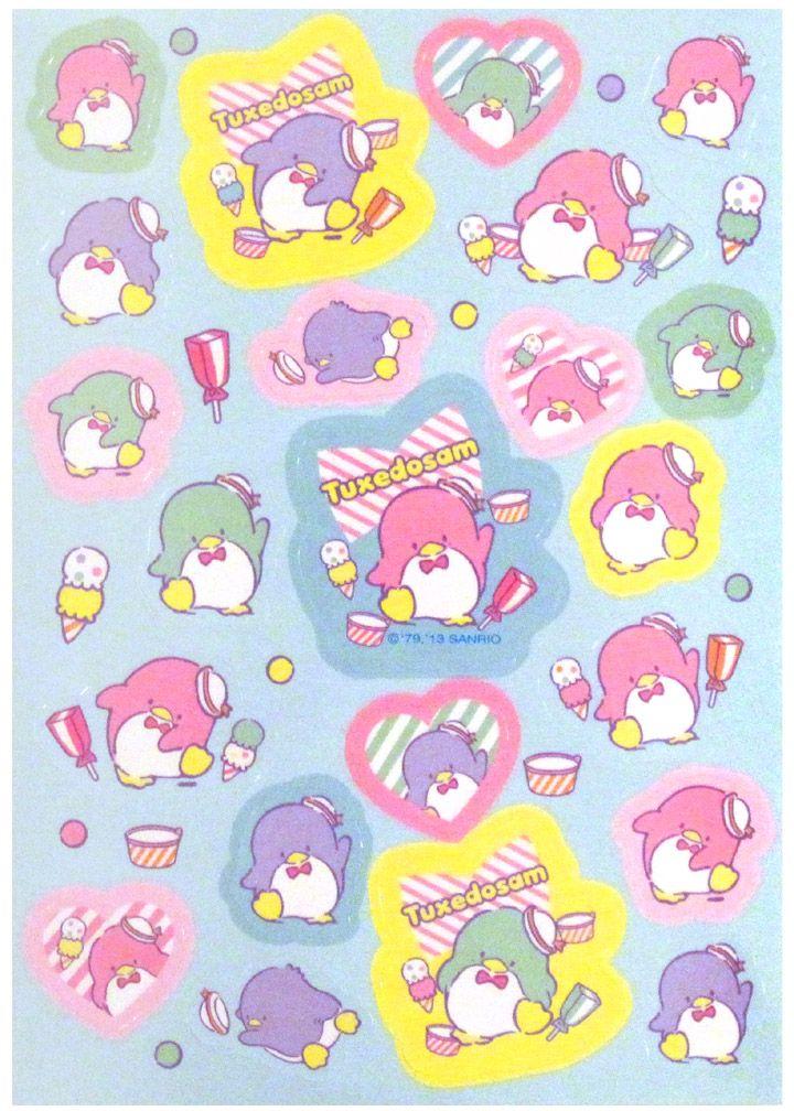 #タキシードサム #sanrio #tuxedo sam #sticker Sheet