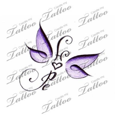 Tattoo Idea!~  i love the hope in the middle as that is my daughters middle name but want to draw something up like this with sisters in the middle