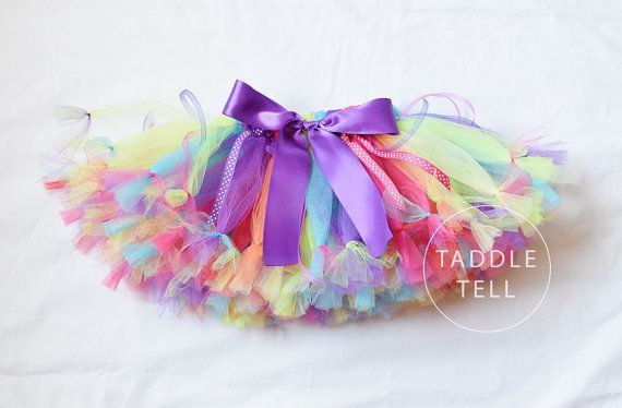 CANDY LAND Party PURPLE - Ribbon Petti Tutu- Sizes Newborn to 5T