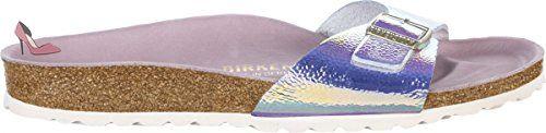 Birkenstock , Sandales pour femme - argent - Ombre Pearls Silver HEX Orchid, - Chaussures birkenstock (*Partner-Link)