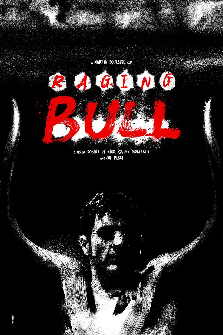 Raging Bull by Daniel Norris Prints available here #design ...