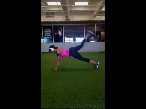 VIDEO: Try This Plank Jack Combo Exercise Move
