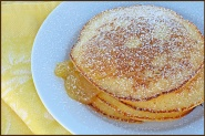 Another pancake recipe...ricotta and lemon curd pancakes