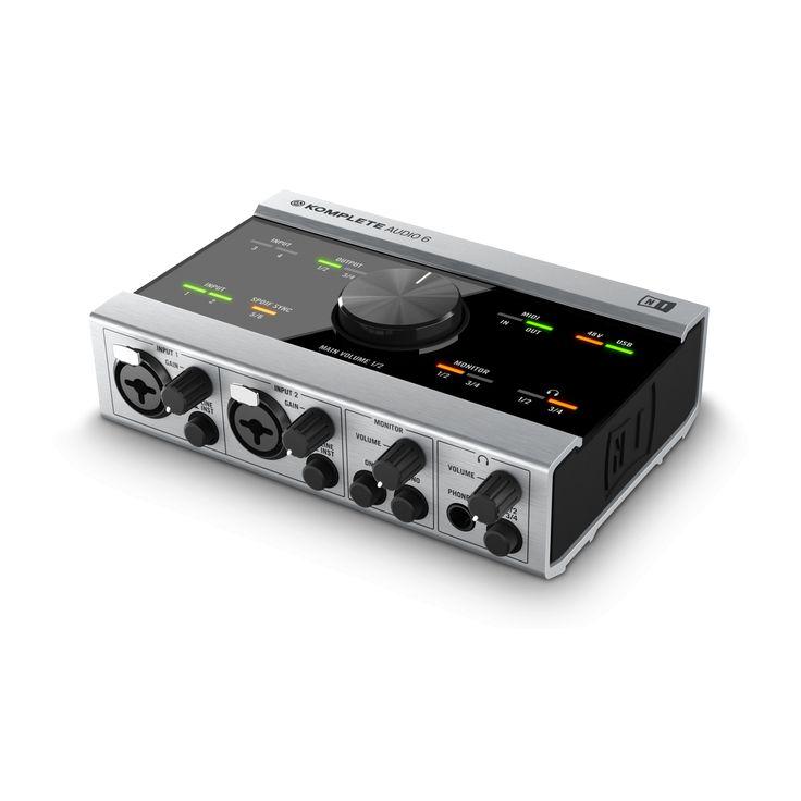 Native Instruments NI Komplete Audio 6 Midi Interface