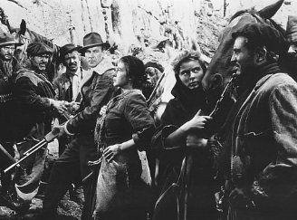 Gary Cooper,Arturo de Córdova and Katina Paxinou also Ingrid Bergman For Whom the Bell Tolls (1943).