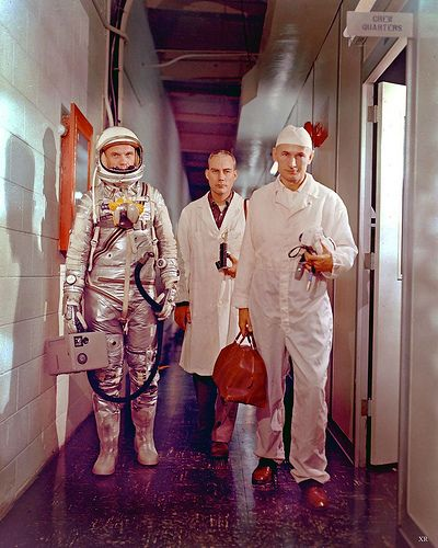 1962 ... John Glenn enroute to launch