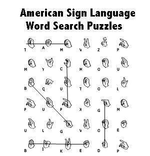 13 best Sign language worksheets images on Pinterest