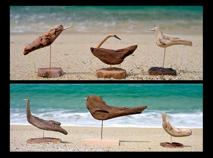 Birds of driftwood art-#2