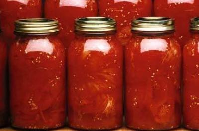 Canning whole tomatoes. Easy. Need canning jars, lids and 75 minutes in the oven.