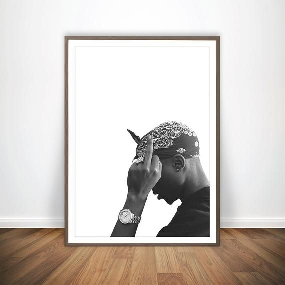 Any Other Size Change Colors Or Add Custom Text For Free Accept All Major Credit Cards See Faq Below Tupac Poster Canvas Art Prints Canvas Painting