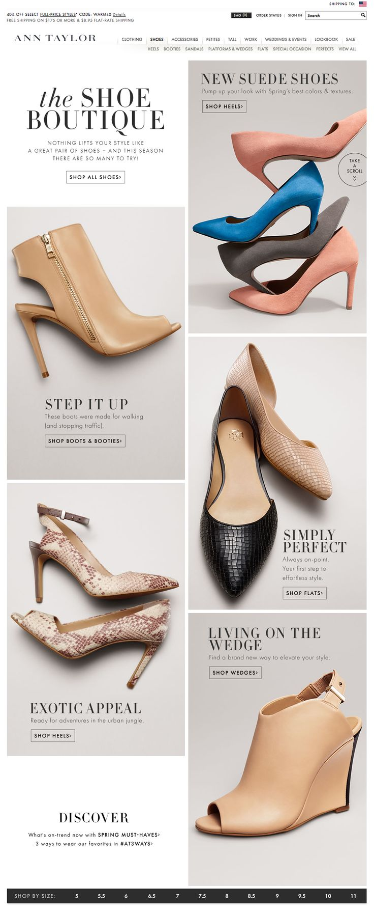 Shoes | Ann Taylor