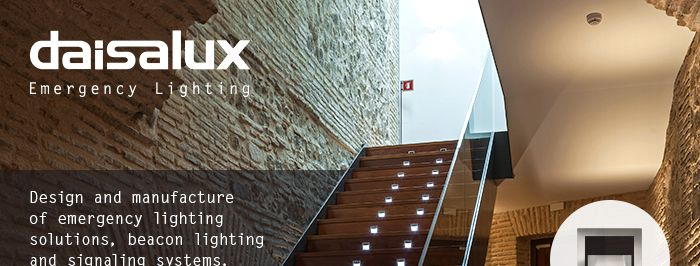Emergency lighiting solutions Daisalux
