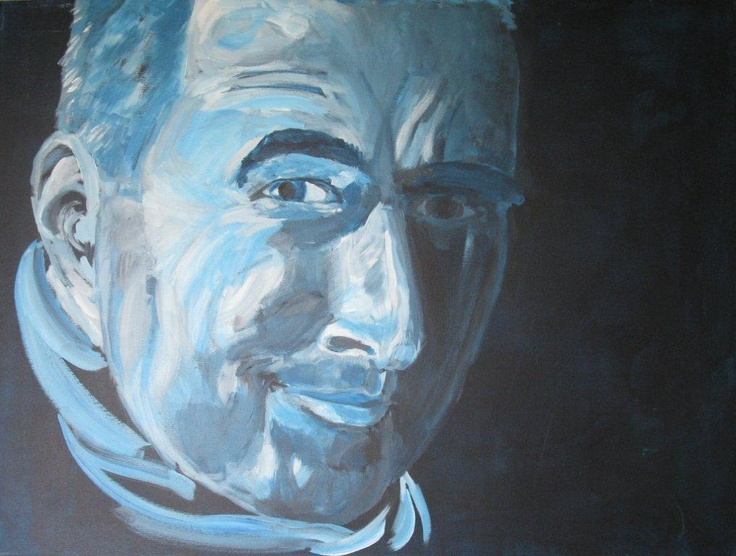 Portrait. June, 2011. 80x60. Acrylics on canvas. Privately owned.