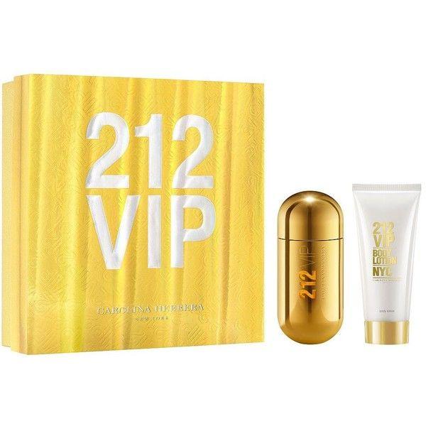 Carolina Herrera 212 VIP Eau de Parfum Gift Set- 130.00 Value ($102) ❤ liked on Polyvore featuring beauty products, gift sets & kits, eau de perfume and carolina herrera