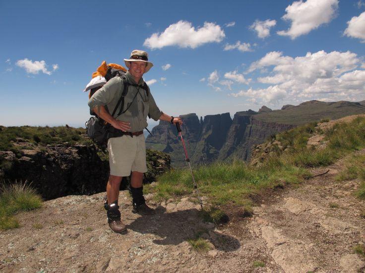 Drakensberg traverse - March 2014