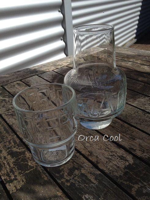 Boston Karaf en Waterglas. #Karaf #waterglas #Glaswerk